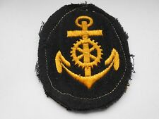 German Kriegsmarine  petty officers cloth patch machinist 3rd class