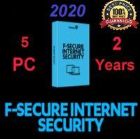 F-Secure Internet Security 2020 2 Anni (1/5) Computer 24 MESI  ANTIVIRUS fsecure