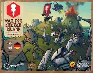 WAR FOR CHICKEN ISLAND DEUTSCH - Spiel - Taverna Ludica Games - OVP