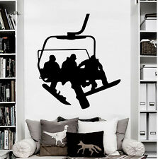Wall Decals Snowboard Sport Winter Snow Vinyl Sticker Decal Bedroom O560