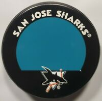 SAN JOSE SHARKS NHL RARE BLANK AUTO OFFICIAL HOCKEY PUCK LINDSAY MFG. CANADA