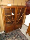 Antique Art Deco Sunburst Bookcase