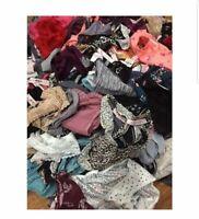 Victoria's Secret Pink panties Random Lot Of 10 Thong Bikini Cheeky Underwear