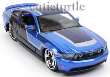 Maisto Custom Shop 2011 Ford Mustang GT 1:24 Diecast Blue