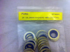 Oil Drain Plug  Metal And Rubber Ford Gasket 14mm - 50 pcs