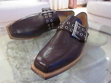 MOSCHELLA BUCKLE MENS HAND MADE LEATHER SHOE SUIT HOLDEN TORANA LC LJ LH LX GTR