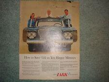 1961 Studebaker Lark Original Magazine Ad