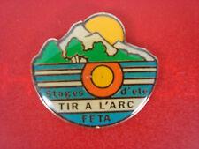 pins pin sport tir a l'arc archers ffta