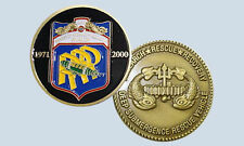 NAVY DSRV 2 AVALON DEEP SUBMERGENCE RESCUE VEHICLE  CHALLENGE COIN