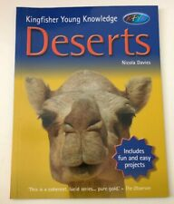 Kingfisher Young Knowledge - Deserts by Nicola Davies Inc Projects Free Ship