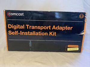 NEW IN BOX COMCAST DIGITAL TRANSPORT ADAPTER DTA SELF INSTALLATION KIT