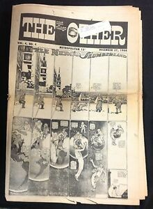 "DEC. 27 1968 ""The East Village Other"" underground newspaper Deitch Windsor McKay"