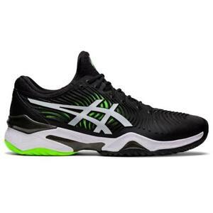 Asics Court FF 2 Men's Tennis Shoe (Black/Green) for Hard Courts - Auth Dealer