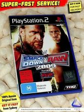 Smackdown vs Raw 2009 Sony PS2 (NEW) AU PAL wrestling cage fighting game UFC MMA