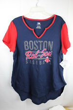 Boston Red Sox Womens T-Shirt Genuine MLB Licensed Size S SMALL