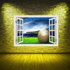 Décorations murales et stickers amovibles football pour la maison