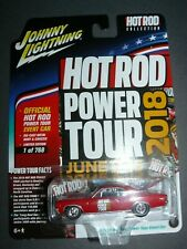 Limited Ed. 2018 Johnny Lightning Hot Rod Power Tour 1967 Chevy Chevelle Ss 1:64