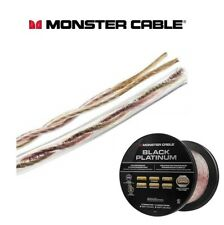 Monster® XP Black Platinum High Performance Triple Shielded Speaker Cable / Wire
