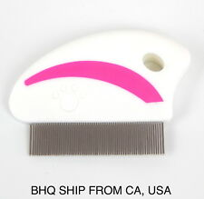 Dog, Cat Flea Combs - Pink