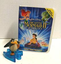 McDonald's 2000 Disney VHS Video Showcase Little Mermaid 2 penguin