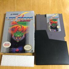 Nintendo NES Boxed Game - Life Force Salamander