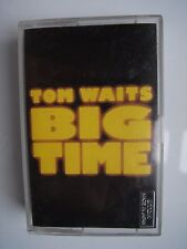 TOM WAITS BIG TIME,CASSETTE ITWC 4 ISLAND 1988,5 014474 000447,TESTED PERFECT