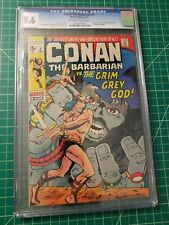 CONAN THE BARBARIAN #3 CGC GRADED AT 9.6 OFF-WHITE TO WHITE PAGES LOW PRINT RUN