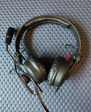 Sennheiser hmd25-1 600ohm headset with microphone commentary WORKING