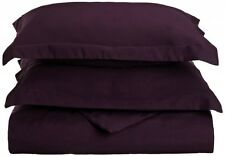 DUVET COVER WITH SHAMS 1500 THREAD COUNT - Available in King & Queen & 12 Colors