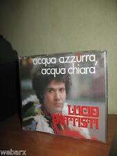 LUCIO BATTISTI ACQUA AZZURRA ACQUA CHIARA CD SINGOLO PERFETTO