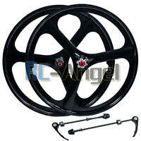 "Fit 26"" MTB Mountain Bike Wheel Set Wheelset Rims Disc Brake 8/9/10 Speed Gear"