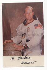 Alfred Worden - Nasa Astronaut - Signed 3.25x5 Photograph