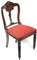 Antique Carved Rosewood Dining Chair - FREE Shipping [PL4723]