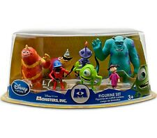 Disney Exclusive Monsters Inc 7 Piece Figure Set Factory Sealed Mike Boo Sully +
