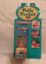Polly Pocket Little Lulus Speedboat Ring & Case Vintage Bluebird 1992 NEW MOC