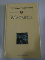 MACBETH WILLIAM SHAKESPEARE LIBRO TAPA DURA PLANETA DEAGOSTINI