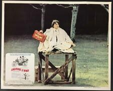 Bud Cort about to set himself on fire Harold and Maude 1971 Mex. lobby card 1714