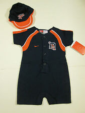 DETROIT TIGERS NIKE CREEPER WITH CAP SZ 12 MONTHS NWT