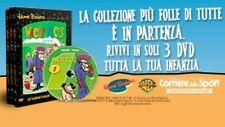 RARA OPERA COMPLETA IN 3 DVD WACKY RACES LE CORSE PAZZE VOLUME 1-2-3 SIGILLATI