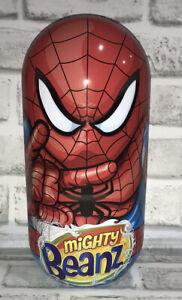 Marvel mighty beanz tin full with 42 marvel beanz