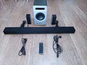 VIZIO 5.1 SmartCast SoundBar and Subwoofer System ( SB3651-E6 ) USED