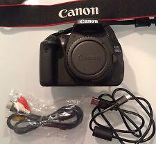 Canon EOS 600D 18.0MP Digital SLR Camera - Black (Kit w/ EF-S 18-55mm DC III...