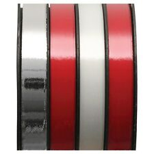 New Holiday Christmas Gift Wrap Spritz Curl Ribbon 4 End X 72 Ft Red White Silve