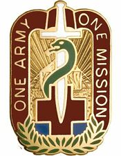 0048 Combat Support Hospital Unit Crest (One Army One Mission)