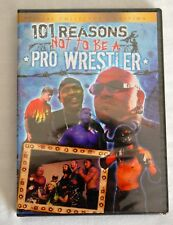 101 Reason Not To Be A Pro Wrestler NEW DVD Sealed Konnan New Jack wwe tna roh