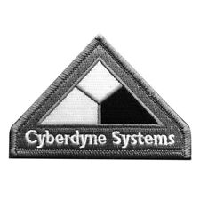 Terminator Movies Cyberdyne Systems Logo iron on Sew on Patch (Msp5)