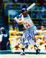Kirby Puckett 8 x10 Autographed Signed Photo ( Twins HOF ) REPRINT .