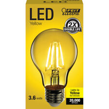 FEIT Electric Filament LED Bulb 3.6 watts A-Line A19 Yellow