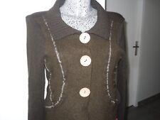 gilet laine taille M 38 40 de marque JACQUELINE RIU cardigan boléro jacket femme