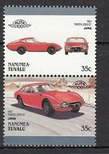 H162) Timbres Neufs MNH (Toyota 2000 GT Japan) /NANUMEA-TUVALU/CARS-AUTOMOBILES